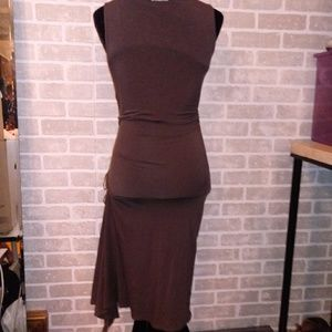 MaxMara Dresses - MAX MARA Asymmetrical tank dress Sz 40